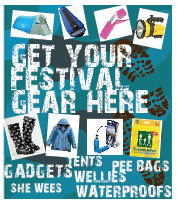 festival gear waterproofs boots tents