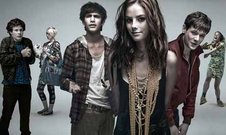 skins tv series group pic